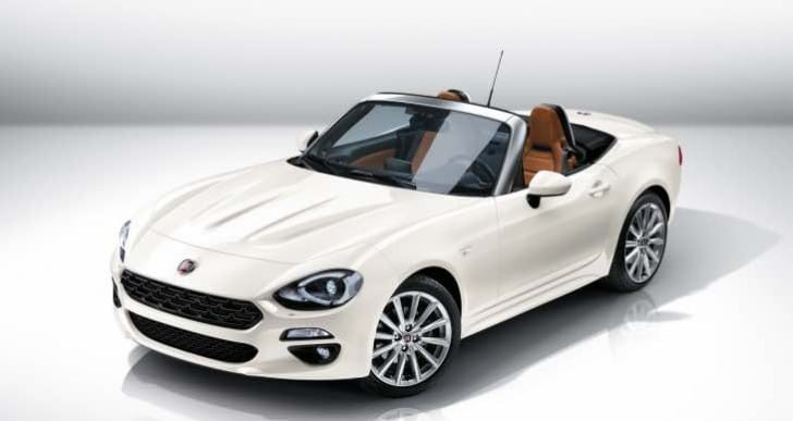 Final FIAT 124 Spider pricing and specifications to come