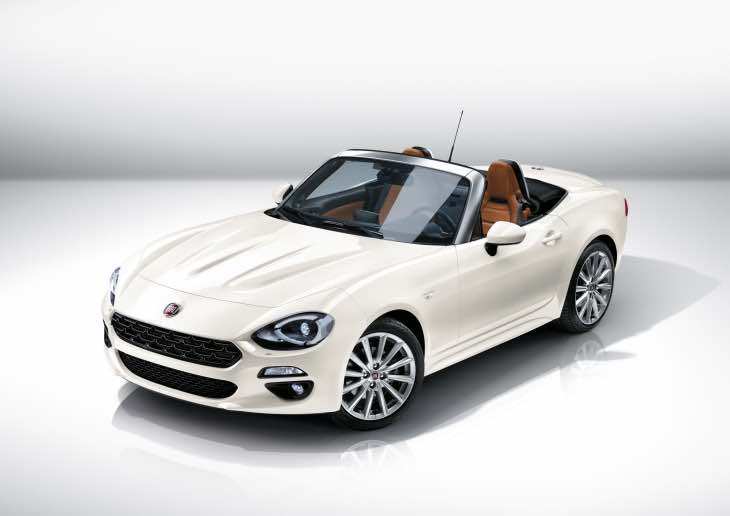 Final FIAT 124 Spider pricing
