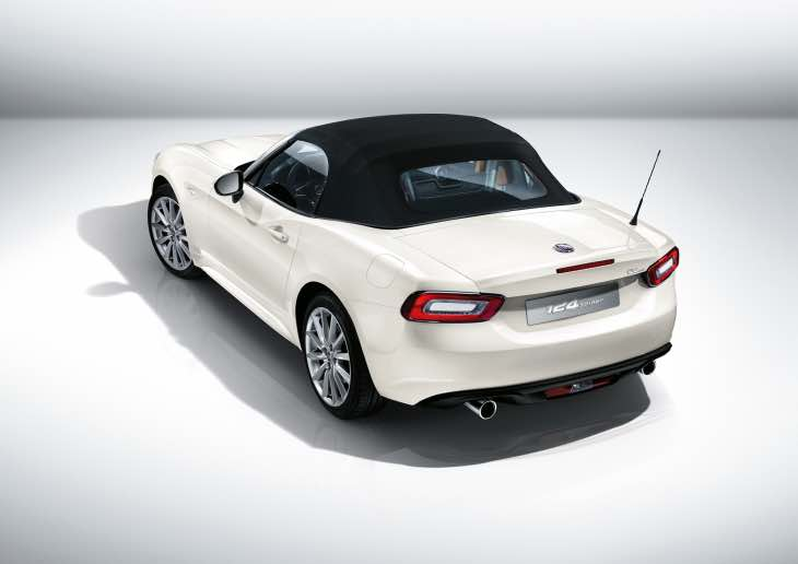 Final FIAT 124 Spider specifications