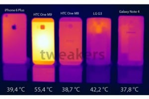Final HTC One M9 software to cool handset