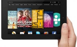 Fire HD 7 Vs 6 8GB tablet specs within review