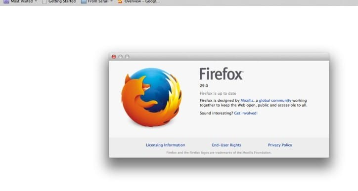 Firefox 29 lost bookmark problems after upgrade