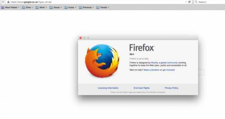 Firefox 39 update is live for download