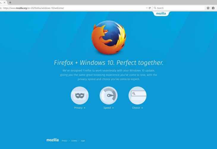Firefox 40 crashes in Windows 10 after update