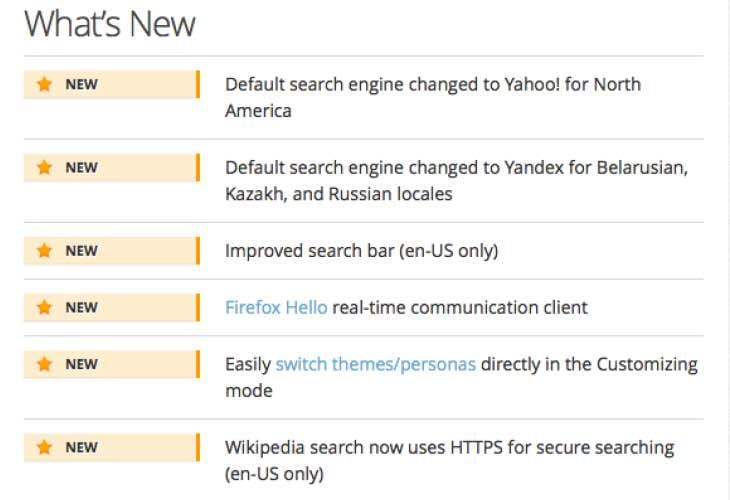 Firefox update 34.0.5