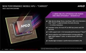 First AMD Carrizo laptops with battery life focus
