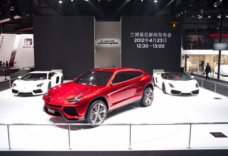 First Lamborghini hybrid model
