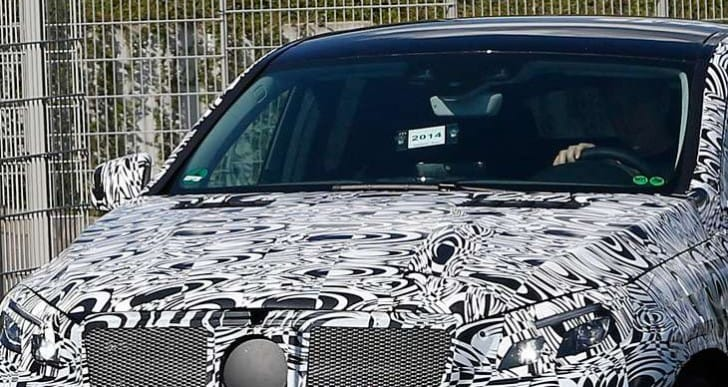 First Mercedes MLC AMG spy shots of exterior