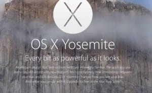 First OS X Yosemite update for multiple issues