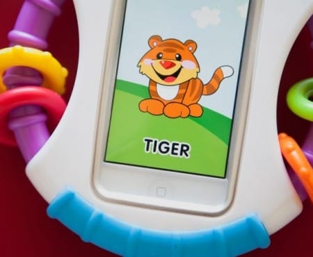 Fisher-Price Apptivity iPhone, iPod touch case for babies