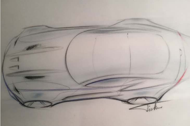 Fisker Force 1 design