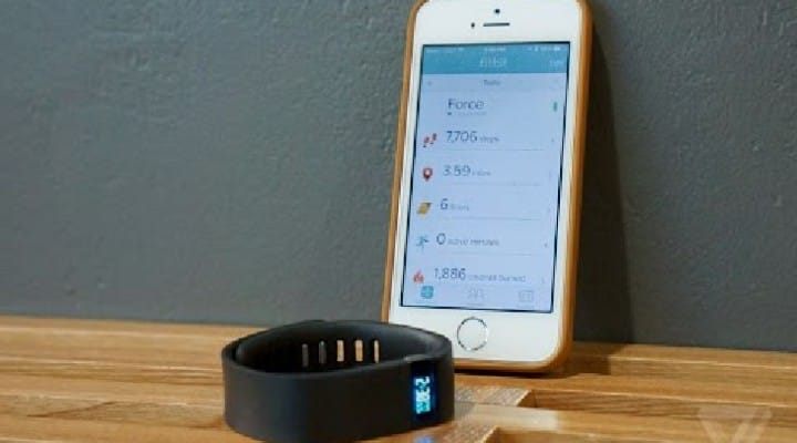 iOS Fitbit app updated to track health with only iPhone 5S