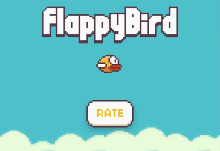 Flappy Bird app on Android is addictive