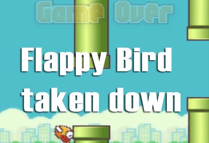 Flappy Bird taken down, app URL missing