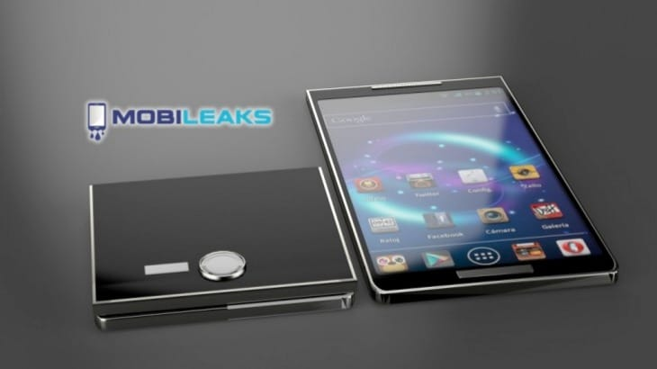 Foldable Galaxy S5 Concept