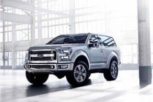 Ford Bronco 2017 production amusingly predicted