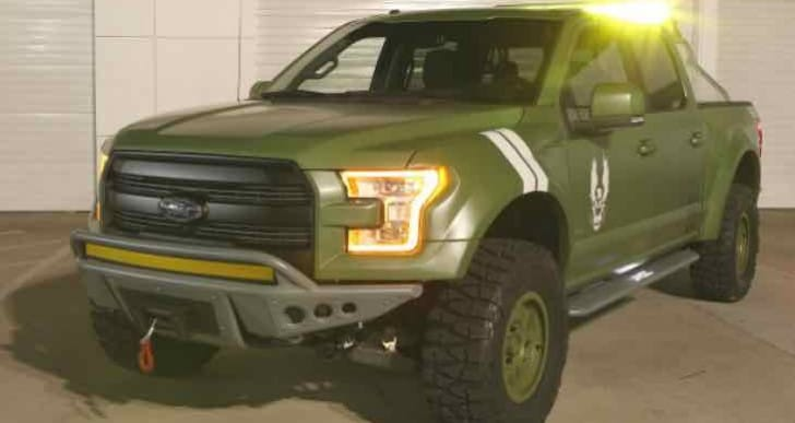 Ford celebrates Halo 5 Guardians vehicles with F-150 Sandcat