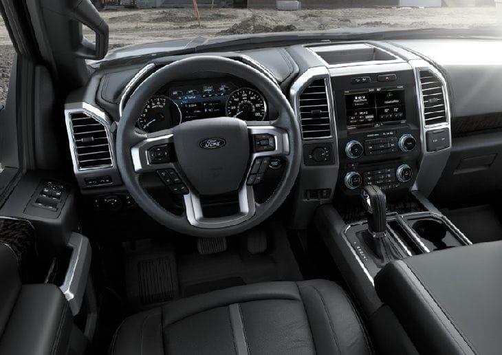 Ford-F150-Interiror