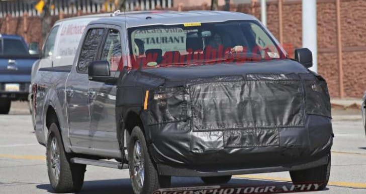 Ford F150 facelift changes may reveal Expedition update