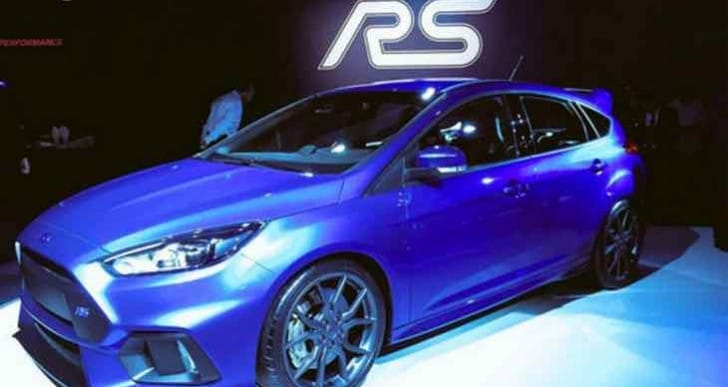New Ford Focus RS 2016 performance over competitors