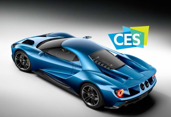 Ford GT at CES 2016