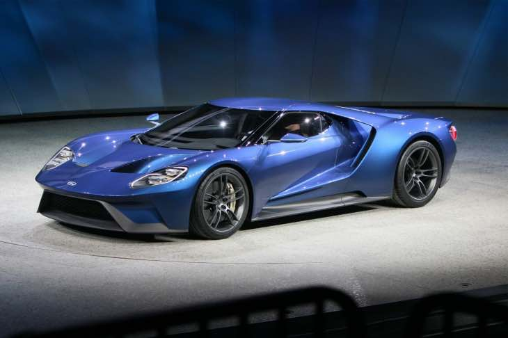 Ford GT technology