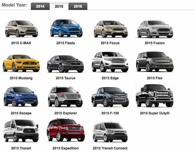 Ford Incentives and Offers