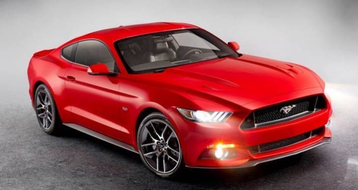 Ford Mustang 2015 premium price over 2014 model