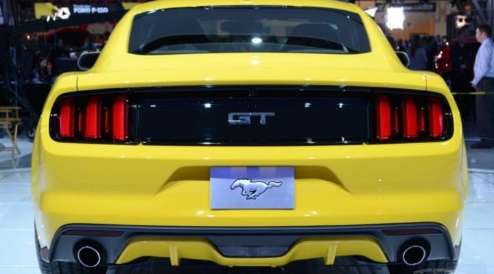 Ford Mustang 2015 price for GT, Premium models