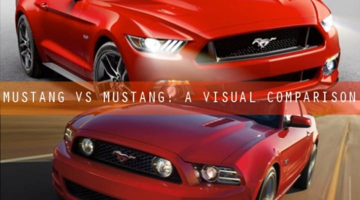 Ford Mustang 2015 vs. 2014, in a nutshell