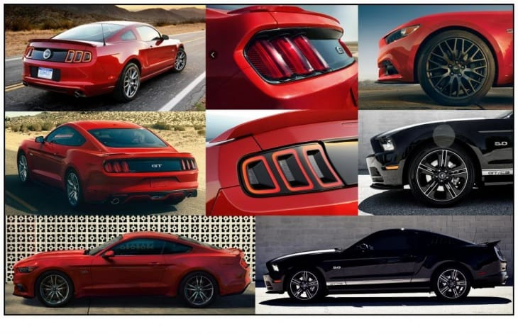 Ford Mustang 2015 vs. 2014