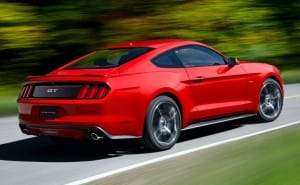 Ford Mustang 2015 weight within official specs