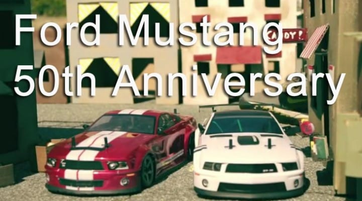 Ford Mustang 50th anniversary starts 8 months early