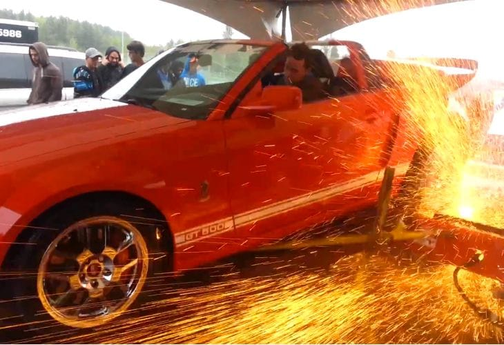 Ford Mustang Shelby GT500 insane new power footage