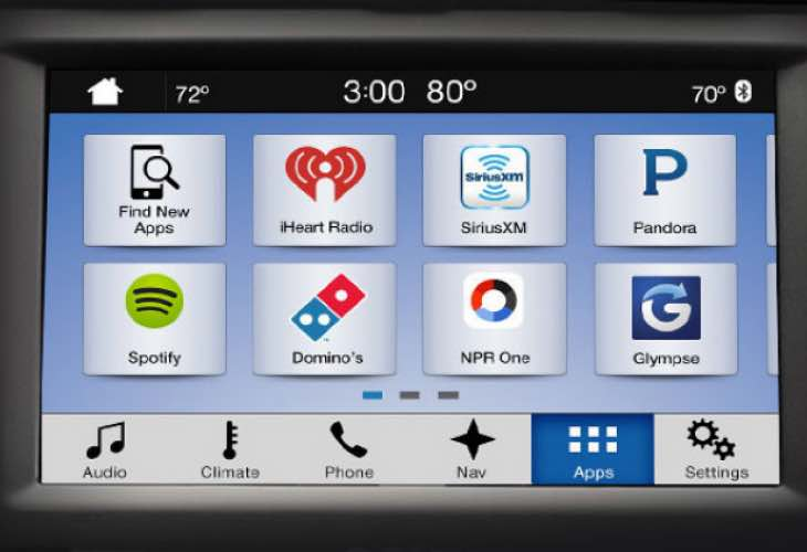 2016 ford sync 3 update to bring new features product reviews net. Black Bedroom Furniture Sets. Home Design Ideas