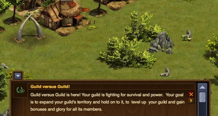 Forge of Empires: Guild vs. Guild live Wednesday