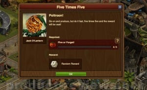 Forge of Empires Halloween quests list with 2014 answers