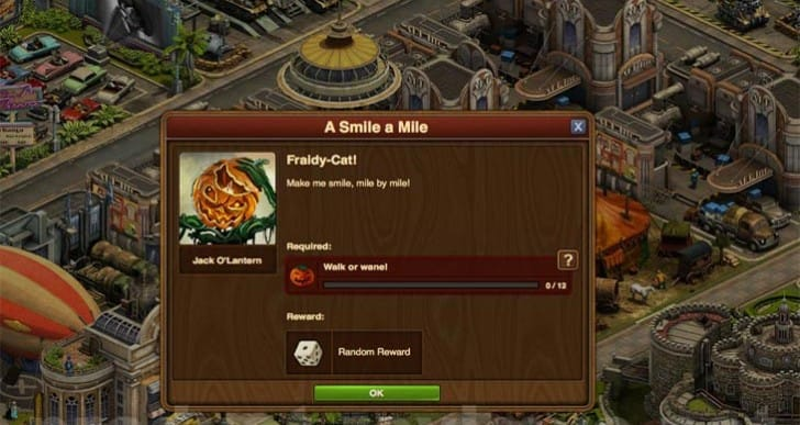 Forge of Empires Halloween 2015 quests list, All answers