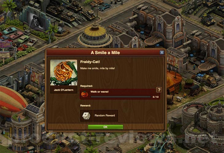 jack o lantern forge of empires