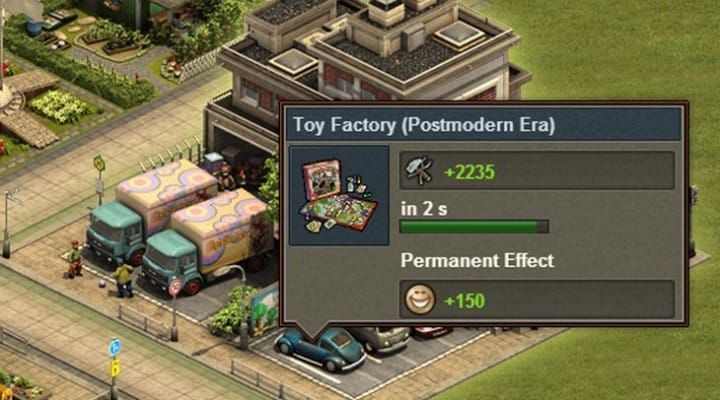 Forge of Empires Postmodern Era with 1.27 update