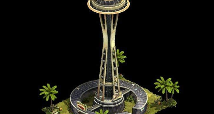 Forge of Empires Space Needle with new bonus