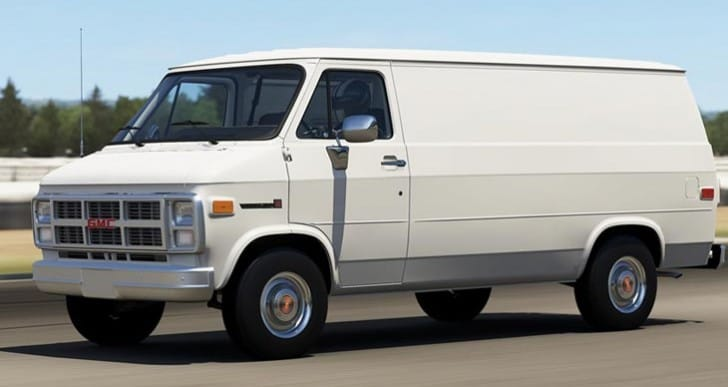 Forza 5 July DLC with 1983 GMC Vandura G-1500