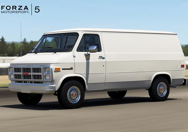 Forza 5 July Dlc With 1983 Gmc Vandura G 1500 Product