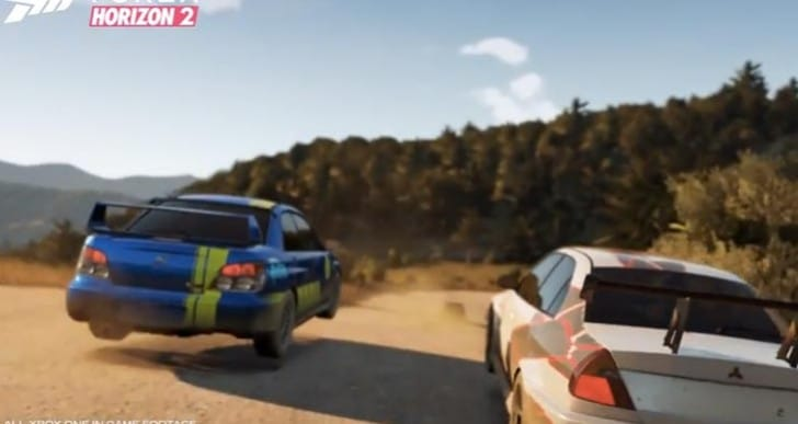 Forza Horizon 2 launch trailer 18 days early