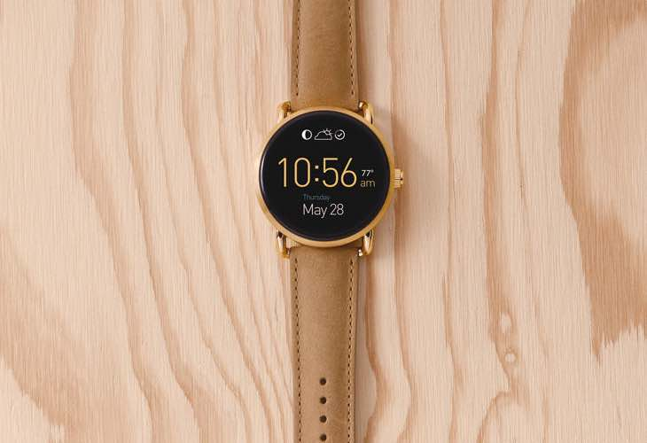 Fossil Q Wander release this fall
