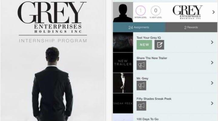 Free Fifty Shades of Grey app to accompany movie