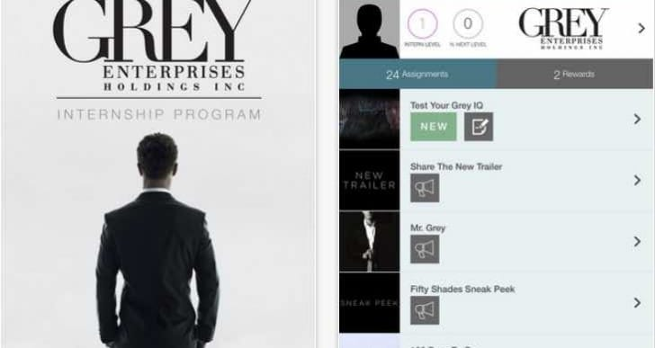 Free Fifty Shades of Grey app to accompany movie