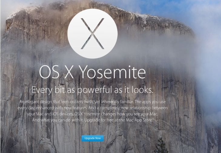 Free OS X Yosemite download
