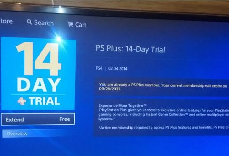 Free PS Plus subscription for 20 years, crazy loophole