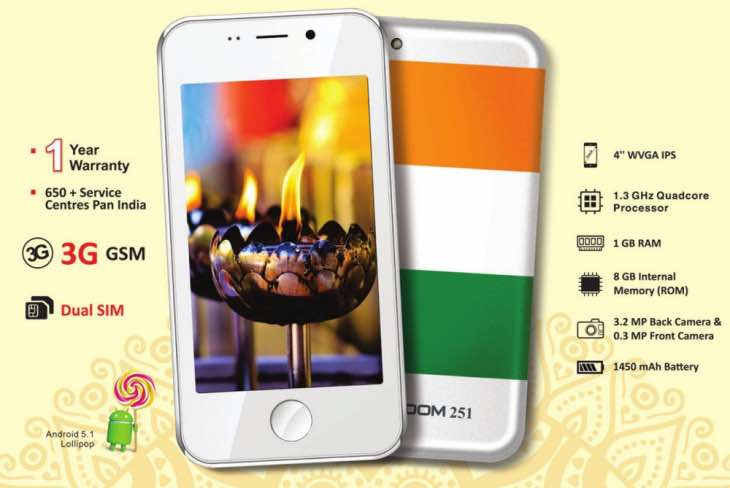 Freedom 251 delivery date